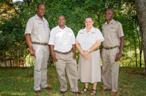 Employees of the year 2015 at Victoria Falls Safari Lodge, Zimbabwe