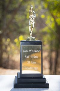 Victoria Falls Safari Lodge Resort award for the fastest runner in the 21km half marathon