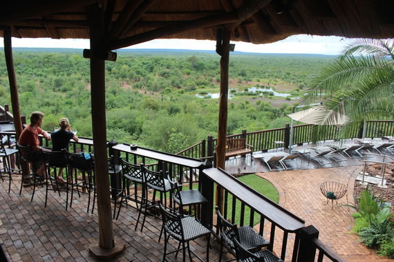 "Featured on Huffington Post ""Top 10 luxury hotels in Victoria Falls"""