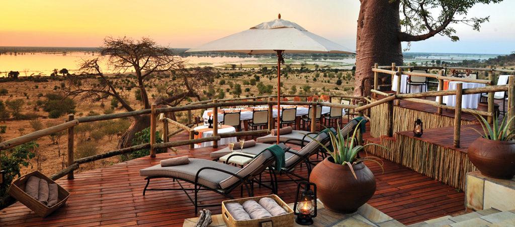 Ngoma Safari Lodge Deck
