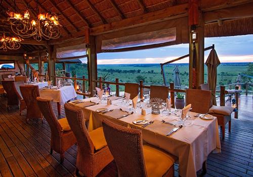 Ngoma Safari Lodge Dining Area Chobe