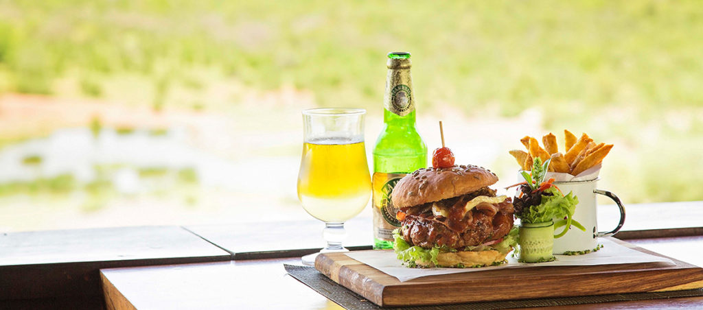 Victoria Falls SAfari Lodge Food Burger