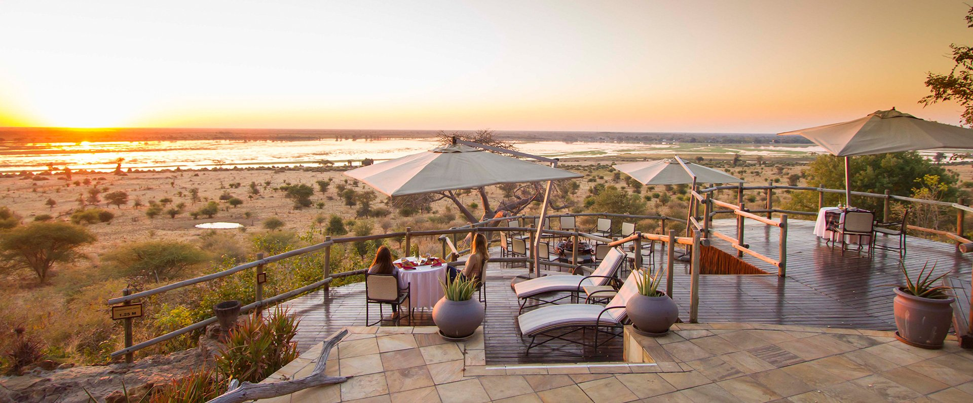 Ngoma Safari Lodge Chobe Sunset