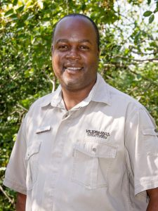 Employee of the month for Victoria Falls Safari Lodge