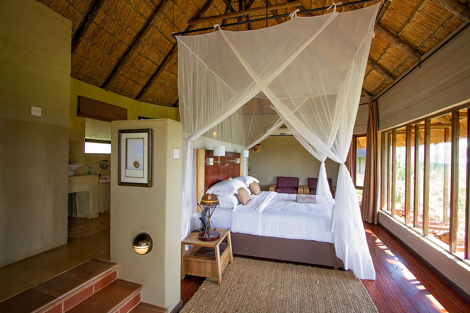 Ngoma safari lodge triple suite