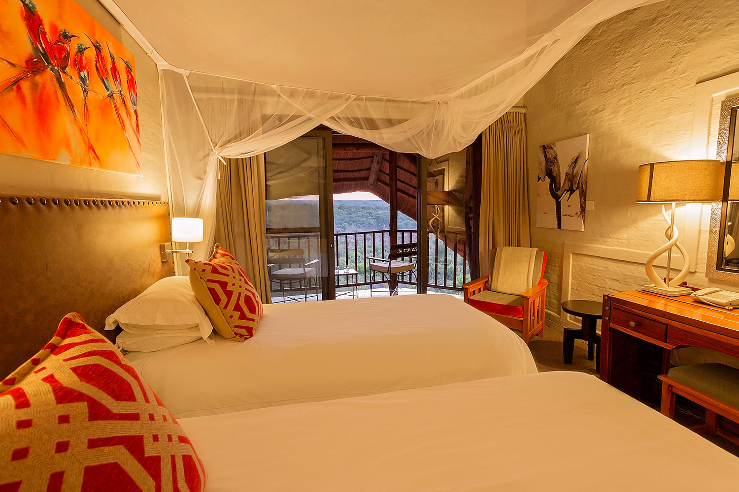 Victoria falls safari lodge standard room