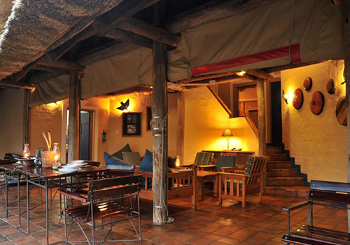 Lokuthula Lodge Exterior Patio Victoria Falls Self Catering
