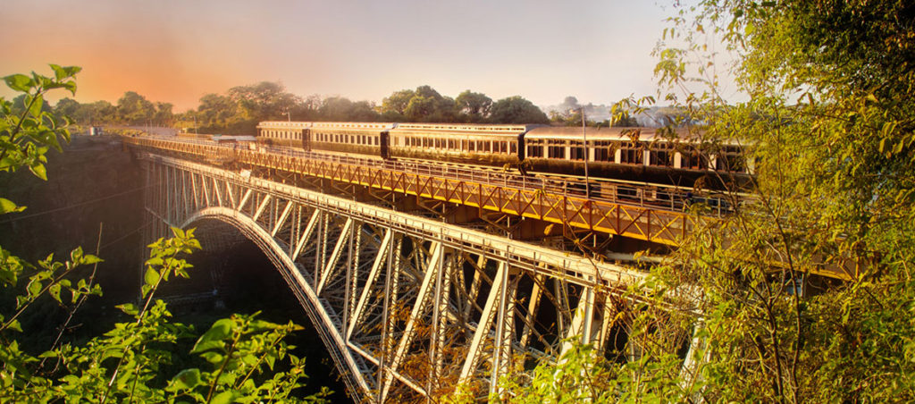 Victoria Falls Safari Lodge Train Bridge