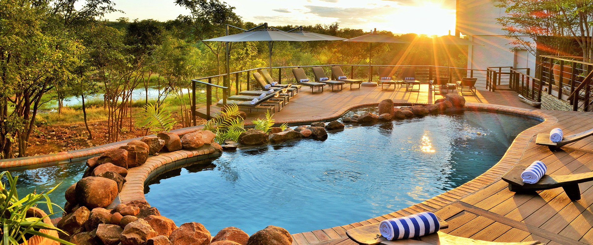 Victoria Falls Safari Club Pool