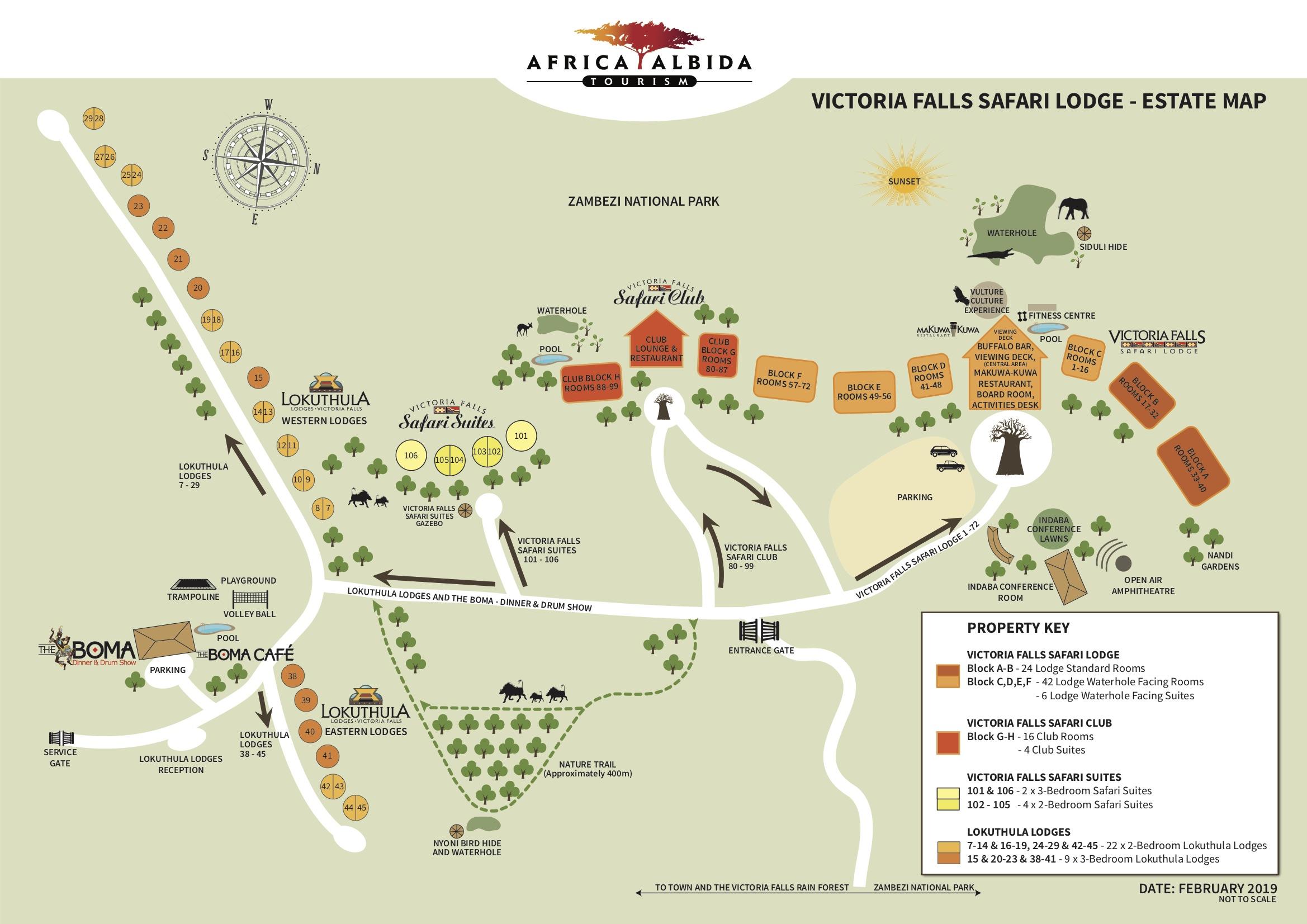 Map Of Africa Victoria Falls.Resort Map 2019 Africa Albida Tourism