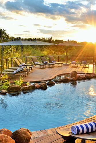 Vic Falls Safari Club Swimming Pool